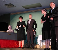 The coffin scene from Reflections of a Century - the Musical