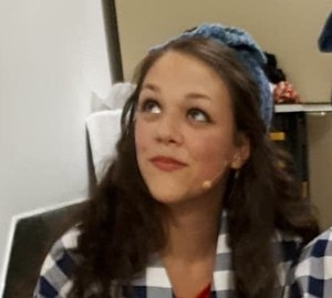 <b>Luna Nordholt-McPhee in a scene from the 2018 Stone Fence Theatre production I Come from the Valley!</b>